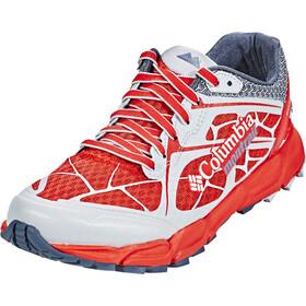 Columbia Caldorado II - Chaussures running Femme - rouge/blanc
